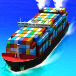 Sea Port: Cargo Ship & Town Build Tycoon Strategy MOD APK 1.0.184 (Unlimited Money)