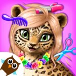 Jungle Animal Hair Salon – Styling Game for Kids MOD APK 4.0.10083  (Unlimited Money)