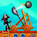 The Catapult: Castle Clash with Awesome Pirates MOD APK 1.3.5 (Unlimited Money)