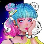 Flora Coloring: Color by Number Painting Game MOD APK 1.0.31 (Unlimited Money)
