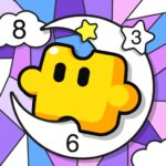 Jigsaw Coloring: Number Coloring Art Puzzle Game MOD APK 2.5.0 (Unlimited Money)