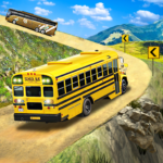 Offroad School Bus Driving: Flying Bus Games 2020 MOD APK 1.43 (Unlimited Money)