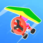 Road Glider – Incredible Flying Game MOD APK 1.0.27 (Unlimited Money)
