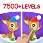 Differences in Eyes, Find & Spot all Differences MOD APK 1.9.5(Unlimited Money)