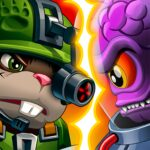 Hamsters: PVP Fight for Freedom MOD APK v1.86 (Unlimited Money)