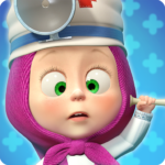 Masha and the Bear: Free Animal Games for Kids MOD APK 4.0.6 (Unlimited Money)
