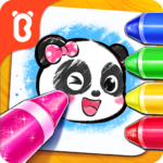 Baby Panda's Coloring Pages MOD APK 8.53.00.03 (Unlimited Money)