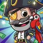 Idle Pirate Tycoon MOD APK 1.5.3 (Unlimited Money)