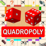 Quadropoly Best AI Board Business Trading Game MOD APK 1.78.87 (Unlimited Money)