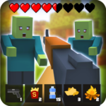 Zombie Craft Survival 3D: Free Shooting Game MOD APK 44.3 (Unlimited Money)
