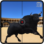 Angry Bull Attack Shooting MOD 802.5 APK  (Unlimited Money)