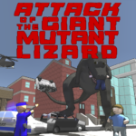 Attack of the Giant Mutant Lizard MOD 1.1.2 APK  (Unlimited Money)