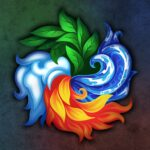 Masters of Elements-CCG game + online arena & RPG MOD APK 1.1.1  (Unlimited Money)