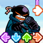 Music Fighter Whitty FNF Game MOD APK 1.0  (Unlimited Money)