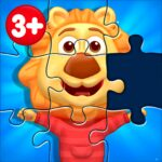 Puzzle Kids – Animals Shapes and Jigsaw Puzzles MOD  APK  1.5.7 (Unlimited Money)