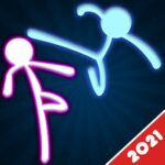Stickman Fighting: 2 Player Funny Physics Games MOD APK 1.9  (Unlimited Money)