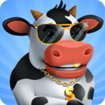 Idle Cow Clicker Games: Idle Tycoon Games Offline MOD APK  3.1.4 (Unlimited Money)