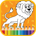 Kids Coloring Book : Cute Animals Coloring Pages MOD APK  1.0.1.7 (Unlimited Money)