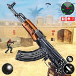Army Shooting Games 2021-FPS Multiplayer Gun Games MOD APK 1.2.1 (Unlimited Money)