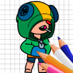 Coloring for Brawl Stars MOD APK  (Unlimited Money)