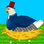 Idle Chicken Farm: Discover and Paint Easter Eggs MOD APK  (Unlimited Money)