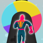 Spider Color Run – Super Heroes Running Game MOD APK  (Unlimited Money)