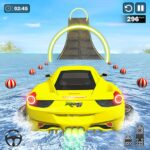 Water Surfing Car Stunt Games: Car Racing Games MOD APK  (Unlimited Money)